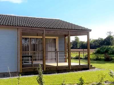 Référence Nature & résidence cottage bois Coat Mor