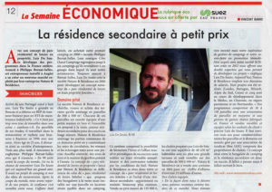 Luis Do Souto La semaine economique article