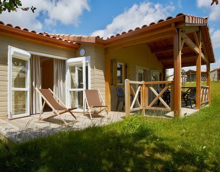 Cottage bois résidence loisir vacances