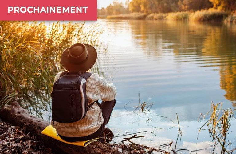 Image à la Une PRL Clos de Gascogne rivière randonneur