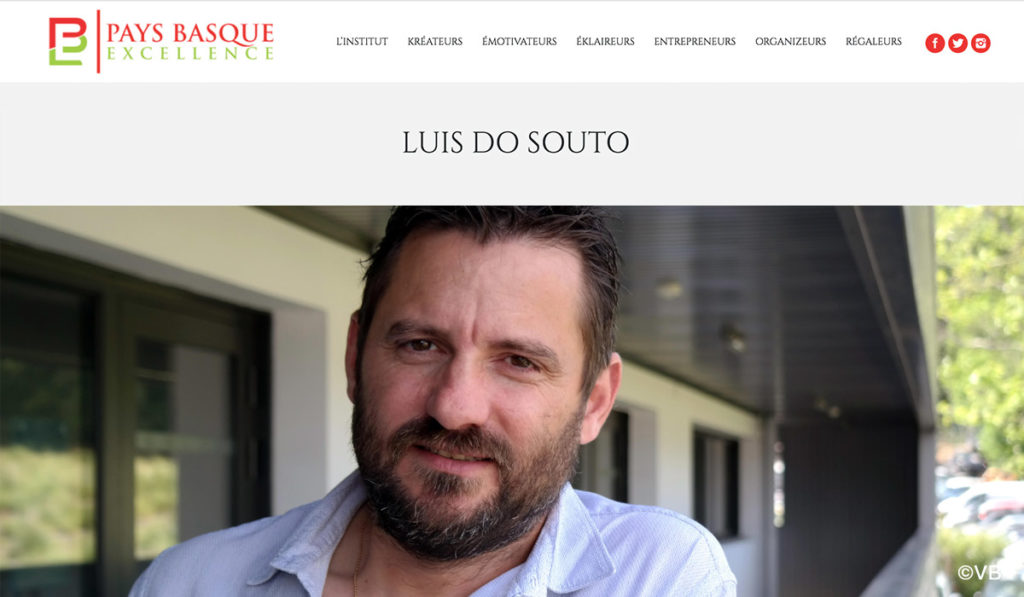 article luis do souto pays basque excellence