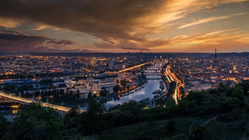 L'essor des villes moyennes françaises